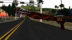 Navidad Escopeta De Combate para GTA San Andreas