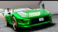 GTA 5 Grotti Carbonizzare v3 SA Mobile para GTA San Andreas