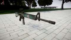 El rifle M16A2 [óptica] varsovia