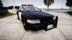 Ford Crown Victoria Highway Patrol [ELS] Vision para GTA 4
