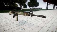 El rifle M16A2 woodland para GTA 4