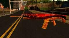 La Víspera de Año nuevo Rifle de Asalto para GTA San Andreas