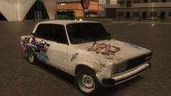 VAZ 2105 Rusty comedero para GTA San Andreas
