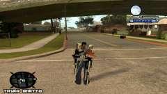 HUD Ghetto Tawer para GTA San Andreas