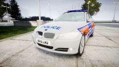 BMW 325d E91 2010 Metropolitan Police [ELS]