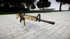 El rifle M16A2 [óptica] nevada