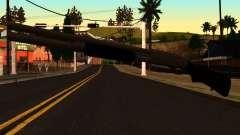 Negro MP-133 Plata para GTA San Andreas