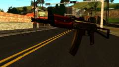 Oscuro AKS-74U v1 para GTA San Andreas