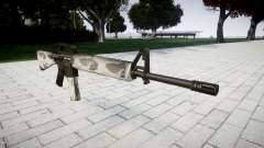 El rifle M16A2 yukon