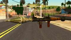 Rocket Launcher from GTA 4 para GTA San Andreas