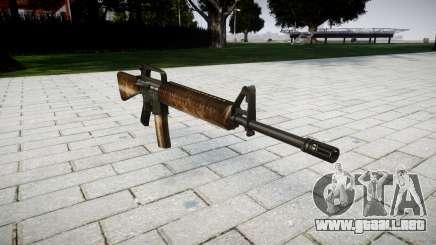 El rifle M16A2 polvo para GTA 4