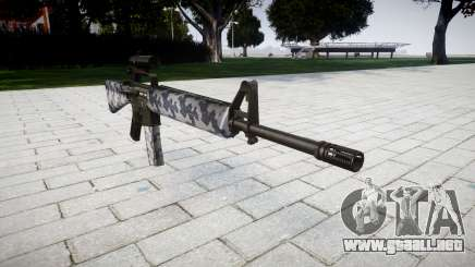 El rifle M16A2 [óptica] siberia para GTA 4