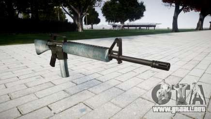 El rifle M16A2 hielo para GTA 4