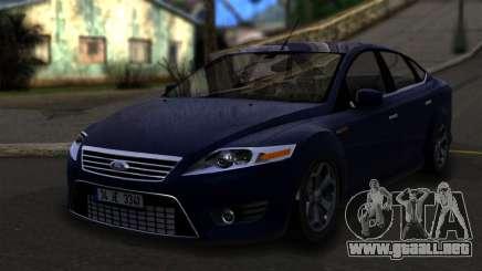 Ford Mondeo 2007 para GTA San Andreas