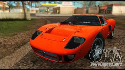 Ford GT40 MKI 1965 para GTA San Andreas