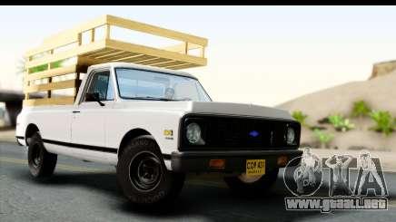 Chevrolet C10 1972 para GTA San Andreas