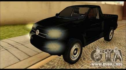 Volkswagen Amarok Cabina Simple para GTA San Andreas