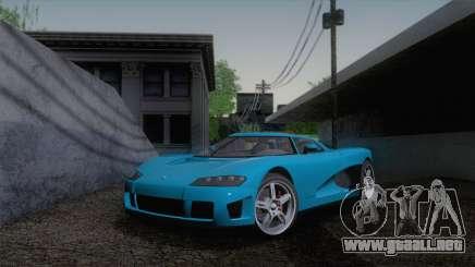 GTA V Overflod Entity XF v.2 para GTA San Andreas