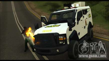 Oshkosh Sand Cat GNB para GTA San Andreas