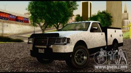 Utility Van from GTA 5 para GTA San Andreas