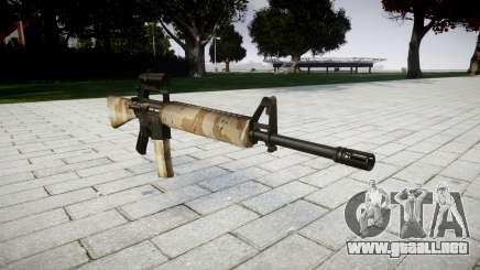 El rifle M16A2 [óptica] nevada para GTA 4
