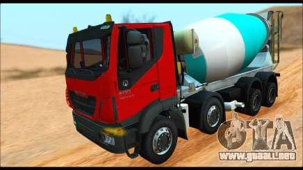 Iveco Trakker 2014 Concrete (IVF & ADD) para GTA San Andreas