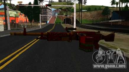 Navidad Ametralladora para GTA San Andreas