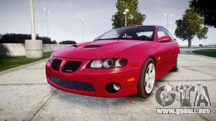 Pontiac GTO 2006 18in wheels para GTA 4