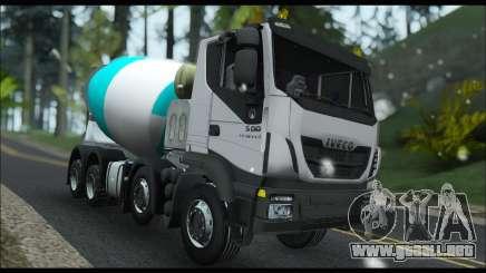 Iveco Trakker 2014 Concrete Snow para GTA San Andreas