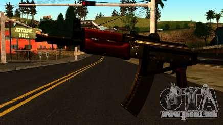 Oscuro AKS-74U v2 para GTA San Andreas