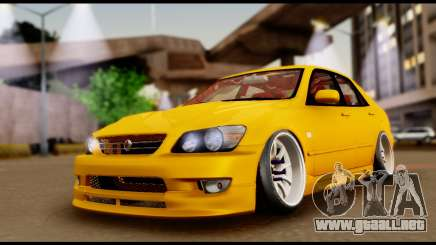 Toyota Altezza Street 2004 para GTA San Andreas