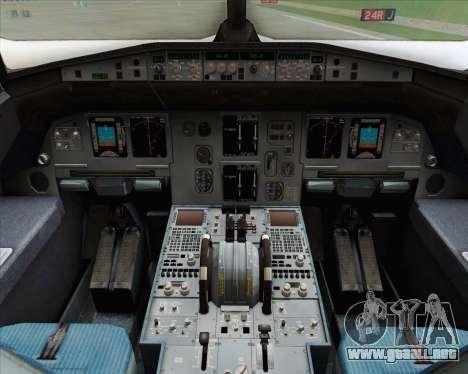 Airbus A320-200 Indonesia AirAsia para vista lateral GTA San Andreas