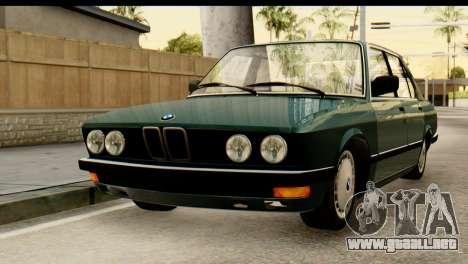 BMW M5 E28 Edit para GTA San Andreas