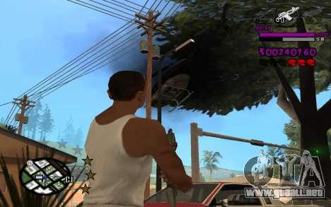 C-HUD by LoMoKo para GTA San Andreas sucesivamente de pantalla