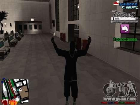 C-HUD TAWER by Vitya para GTA San Andreas tercera pantalla