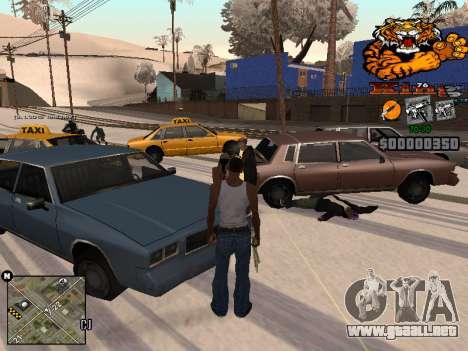 C-HUD King para GTA San Andreas segunda pantalla