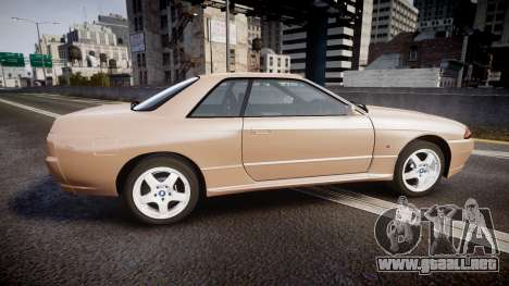 Nissan Skyline R32 GT-R 1993 para GTA 4 left