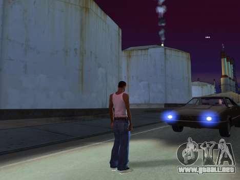 ENB para bajos PC por RonaldZX para GTA San Andreas sucesivamente de pantalla