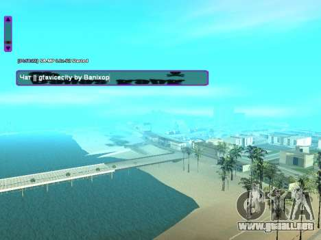 SampGUI Ballas Gang para GTA San Andreas segunda pantalla