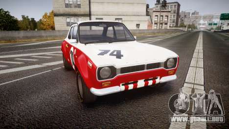 Ford Escort RS1600 PJ74 para GTA 4