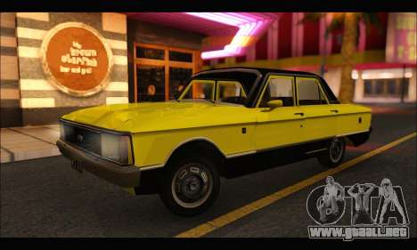 Ford Falcon Sprint para GTA San Andreas left