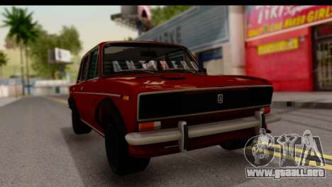 VAZ 2106 BQ para la visión correcta GTA San Andreas