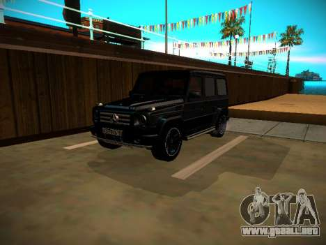 Mercedes-Benz G500 Bluetec 2014 para GTA San Andreas left