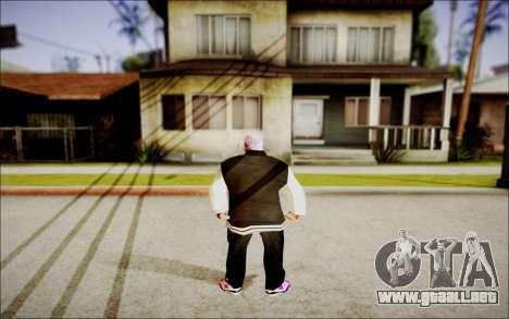 Ghetto Skin Pack para GTA San Andreas segunda pantalla