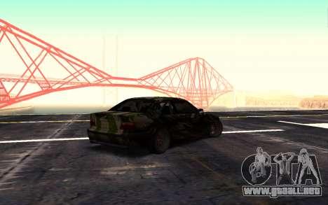 BMW M3 E36 Hunter para GTA San Andreas left