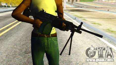 M16 from Global Ops: Commando Libya para GTA San Andreas tercera pantalla