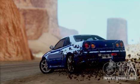 GTA 5 Effects para GTA San Andreas octavo de pantalla