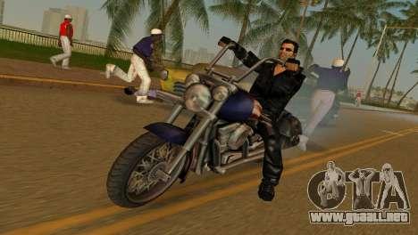 Tommi Black Skin para GTA Vice City segunda pantalla