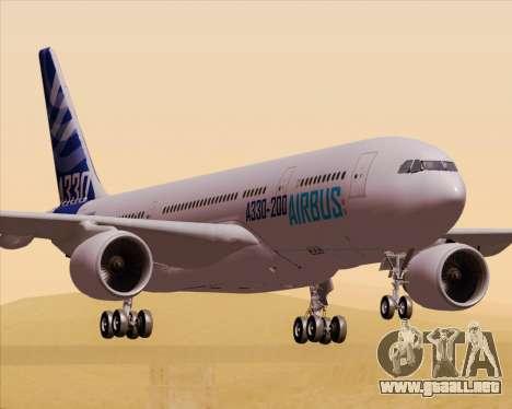 Airbus A330-200 Airbus S A S Livery para GTA San Andreas