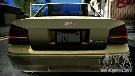 Civillian Vapid Stanier II from GTA 4 para GTA San Andreas